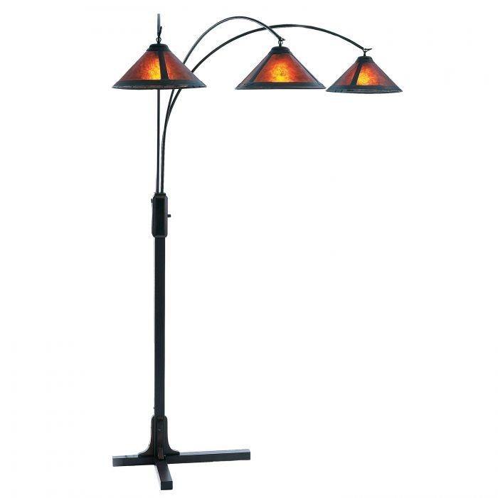Mica 3 Light Arc Nova Lighting 4212bz Arc Floor Lamps