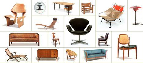 Vintage furnituremontage