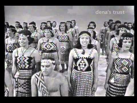 Bizarre vid from Danny Kay show in 1963, Te Arohanui Māori Concert Party - 1963 - Māori Tube Videos