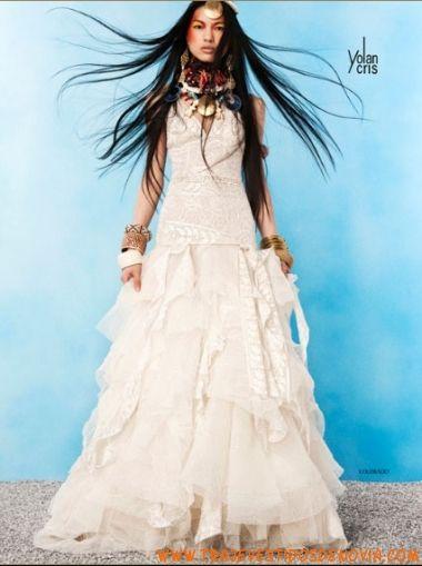 Colorado New Sun Organza Vestido de Novia  YolanCris