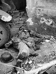 CIRCA 1944 A dead German during the battle for Rome (Krueger Waffen) Tags: italy rome history infantry dead army war military thirdreich wwii 1940s german ww2 soldiers killed kia heer 1944 secondworldwar worldwartwo warfare wehrmacht germansoldier secondworldwartanks