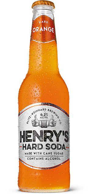 Henrys Hard Orange Soda - tried yesterday, its pretty good!