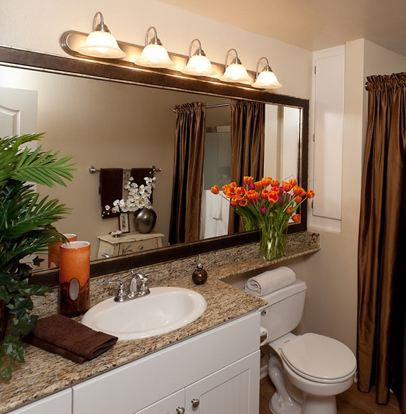 23 best images about bathroom beige and white colors on for Warm bathroom