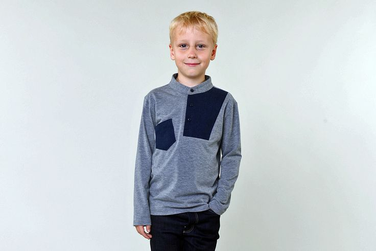 The Jarvis – top   Madeit Patterns Sizes 2T TO 10Y / £5.50