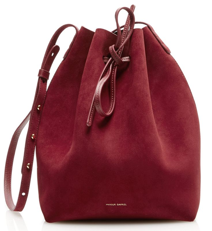 Mansur Gavriel Debuts Patent and Suede Bucket Bags and More for Fall 2016; Order Now at Moda Operandi