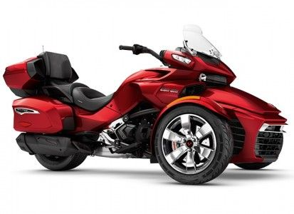 SPYDER Can-Am  Bombardier Can-Am Spyder F3 Limited SE6 Intense Red Pearl '17
