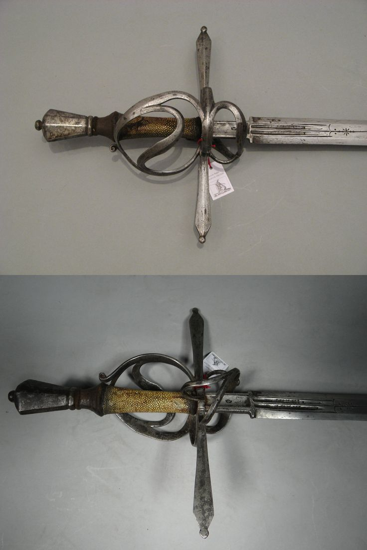 Hand and a half riding sword, german, circa 1580