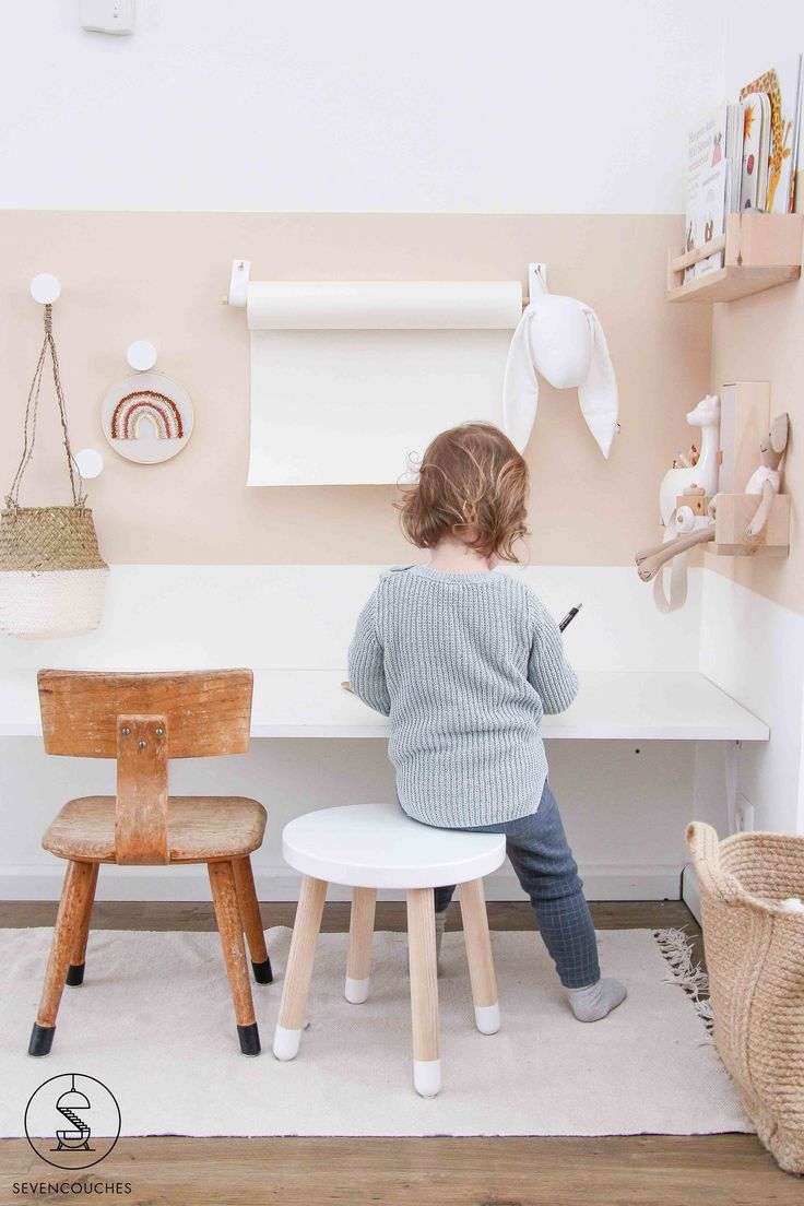 With these 3 tips you will create a beautiful color surface on your wall  – Design: Kids Rooms