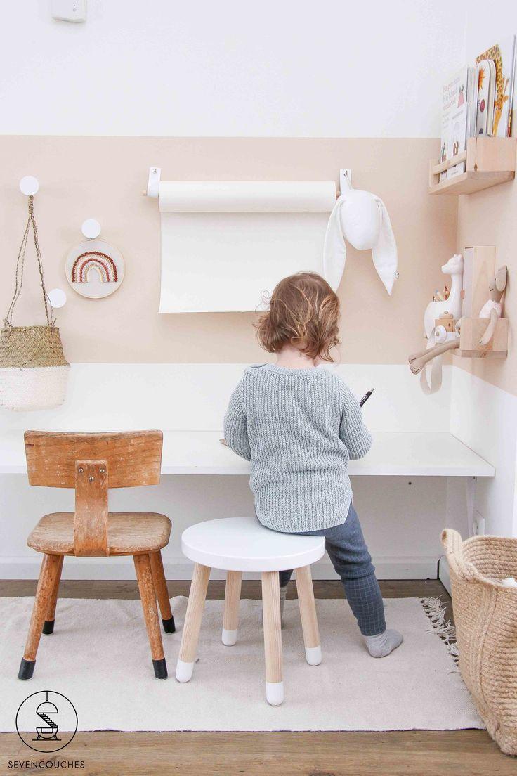Avec ces 3 astuces vous allez créer une belle surface de couleur sur votre mur   – Kids Kids Kids