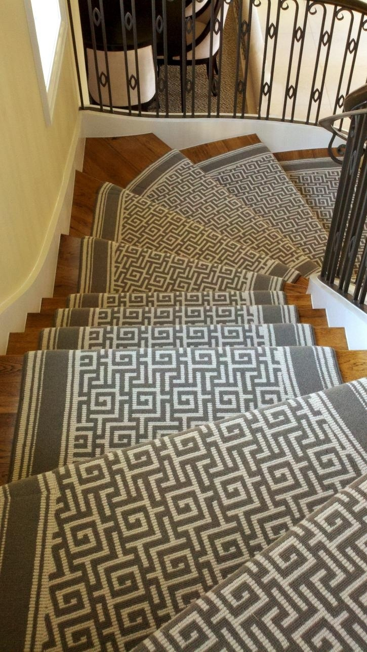Navy greek key rug transitional entrance foyer libby langdon - Contemporary Home Stark Carpet Tacori Stair Runner Design Ideas Pictures Remodel And Decor