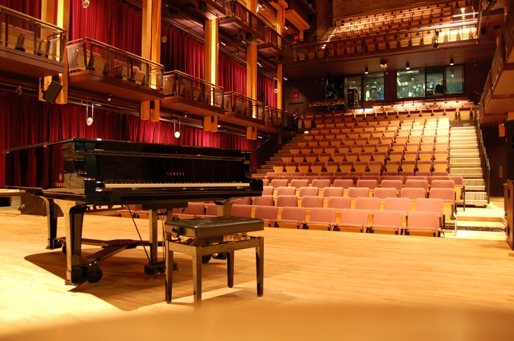 The Festival Performance Hall at the Charles W. Stockey Centre in Parry Sound, ON.