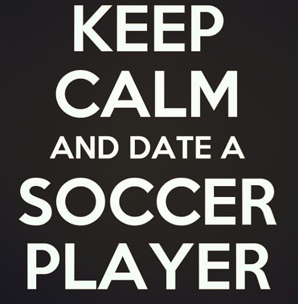 my moto, because i mean soccer guys