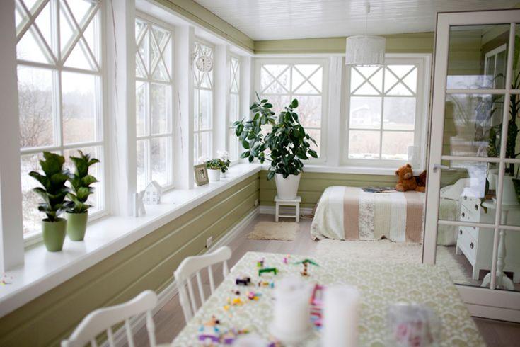 laud, tool, krista, veranda, valge, diivan, kõiv, lamp, voodi