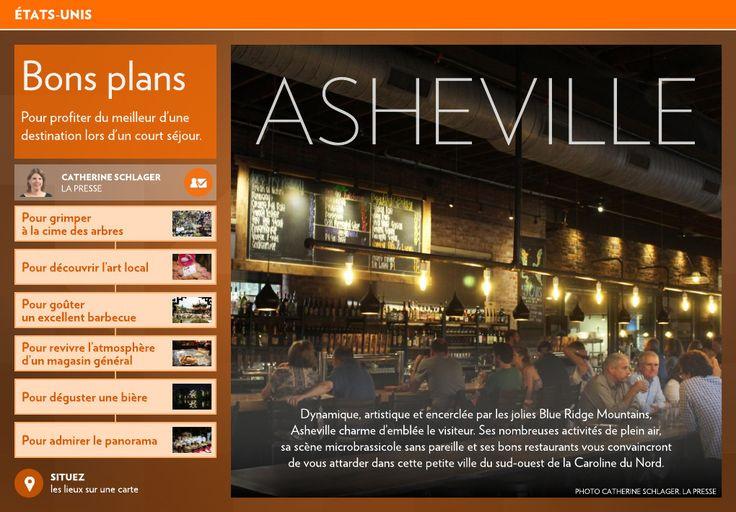 Bons plans à Asheville - La Presse+