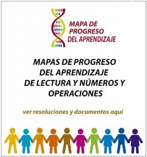 Mapa de progreso del aprendizaje de lectura y números y operaciones: Progreso Del, Del Aprendizaje