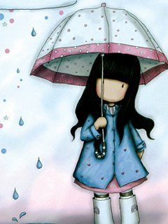Download Wallpaper Free For Mobile Phone Cute Girl Cartoon WallpaperCute