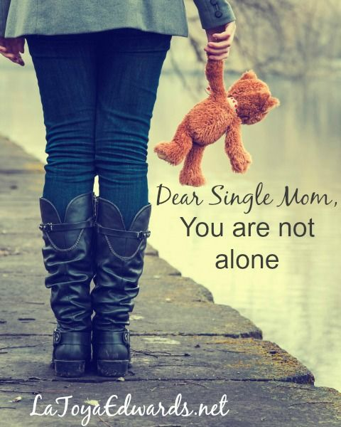 As a single mom it can be easy to fall into the trap of thinking that you are alone. The truth is that you aren't! Here's some encouragement to help you stop believing that lie today!