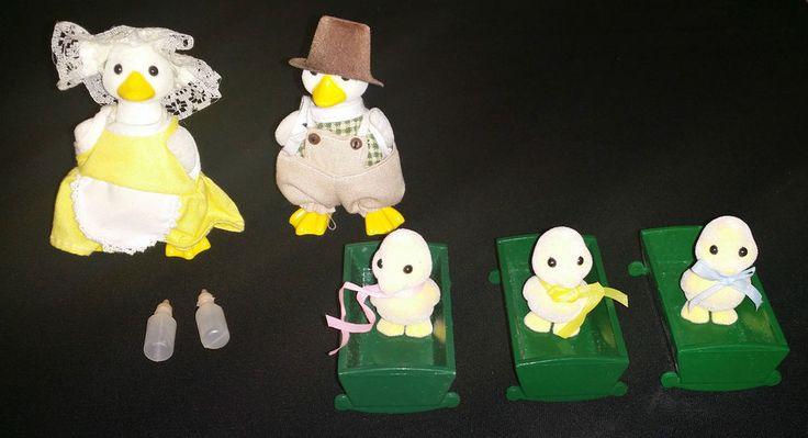 Vintage Sylvanian Families Epoch 1985 - Puddleford Duck
