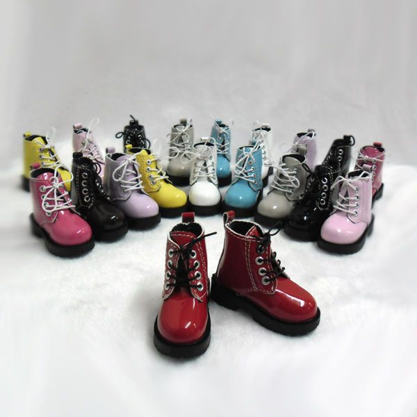 Mimi Collection MSD DOC 1/4 Bjd Obitsu 60cm Doll Boots High Hill Shoes RED #MimiCollection #Shoes
