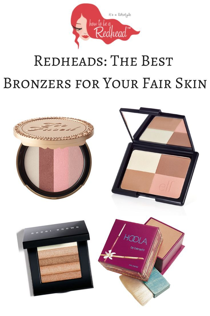 Redheads: How To Find The Best Bronzer for Your Fair Skin | How to be a Redhead