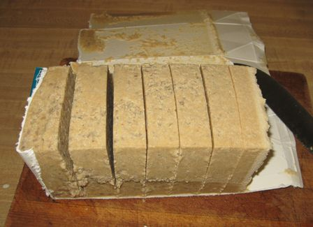 Birding Suet Recipe - put in milk carton and cut into pieces when hardened