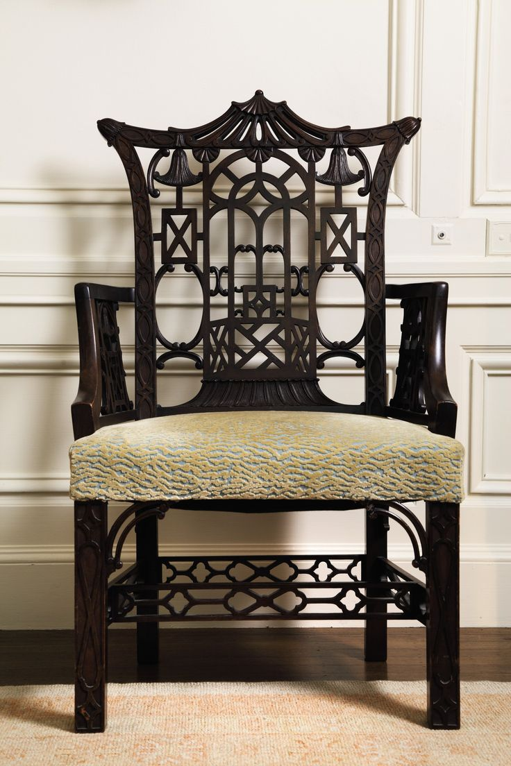 Antique chairs design -  Home Decor In Chinese Chippendale Style Chair