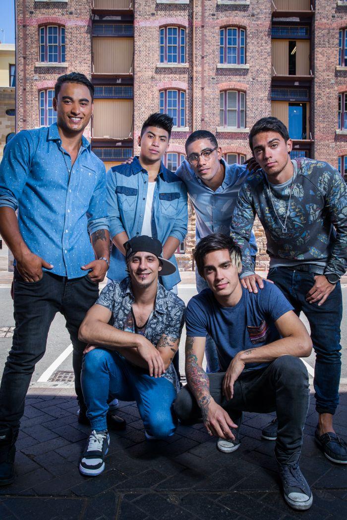Australian hip-hop dance group Justice Crew