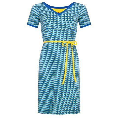 Afbeeldingsresultaat voor halsoverkop grafische jurk