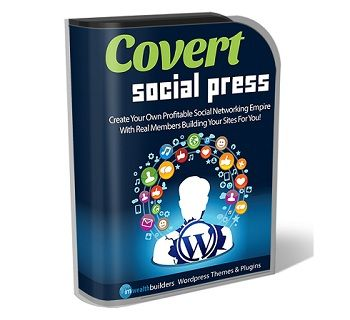 Covert Social Press 2.0 is the world's first Digg styled theme for WordPress. And it makes it point and click easy to build profit pulling social bookmarking sites.
