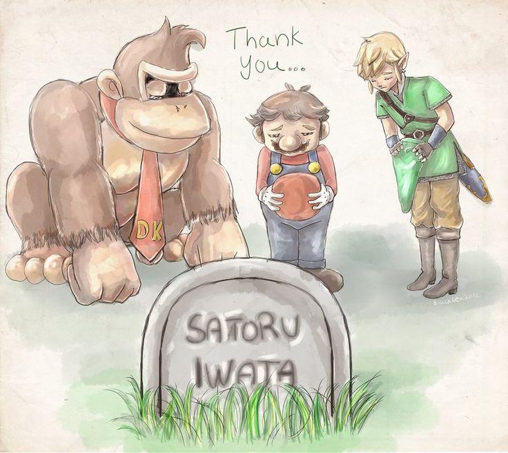 Thank You Satoru Iwata! by Blacksea2012 on DeviantArt