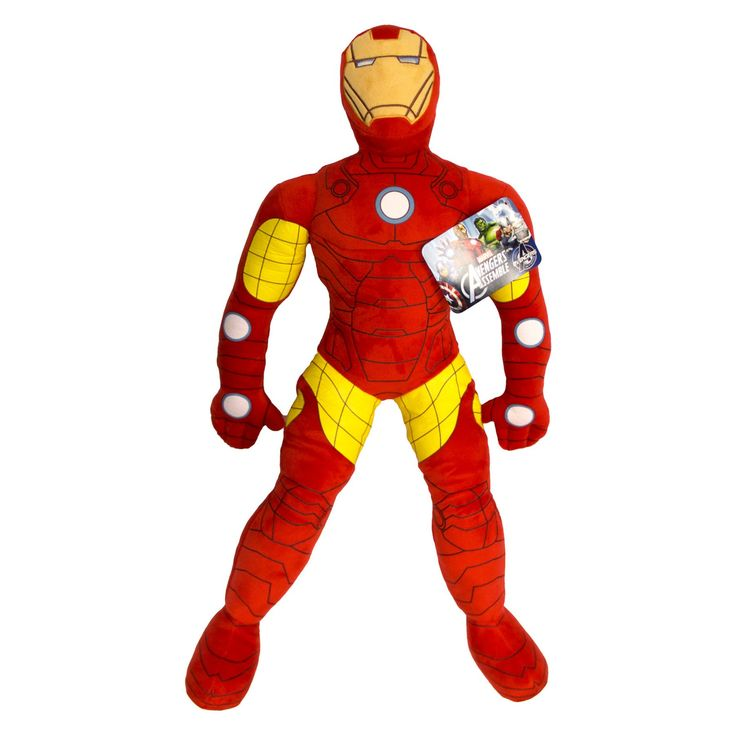 Marvel Civil War Movie Iron Man Plush Pillow Buddy - JF24898HYML