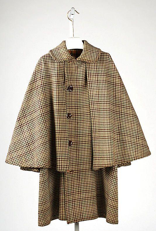 Cape  Date:     1890s Culture:     American Medium:     wool