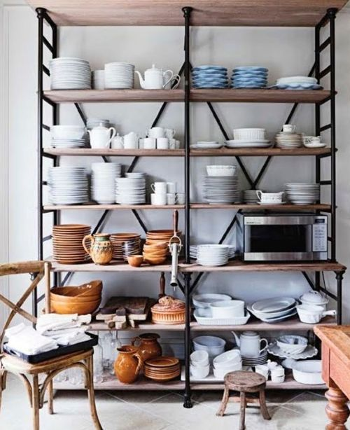 This pantry is my perfection. #pantry (Elle Decor via Lauren Liess)