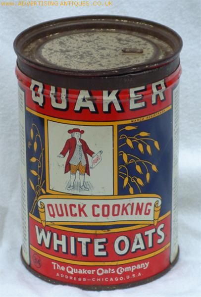 Quaker white oats 1920 love the wonderful product that taste as good