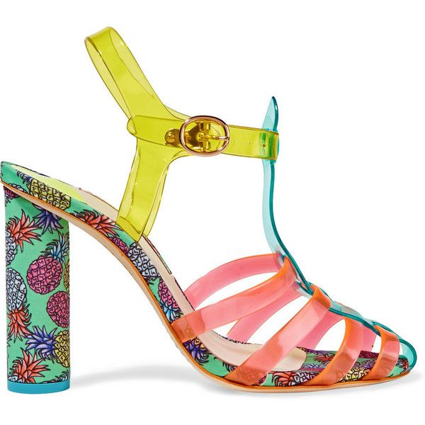 1000  ideas about Multi Coloured High Heels on Pinterest | Black ...