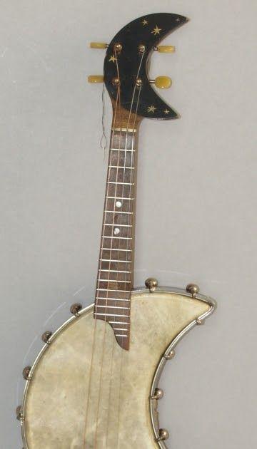 Unusual banjo uke from University of Leipzig - Museum of Musical Instruments  (Thanks twitter, @ShelleyRickey and @UkeHunt)