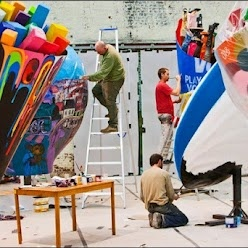 """""""Brusselicious XXL Monument Scenography"""": a monumental urban stage hitting the best known streets and squares, letting everybody know that Brussels is set to celebrate its love of food for the next year ahead. During the summer, all of these sculptures will be brought together in one giant expo: http://bit.ly/N23DSd  #brussels #food"""