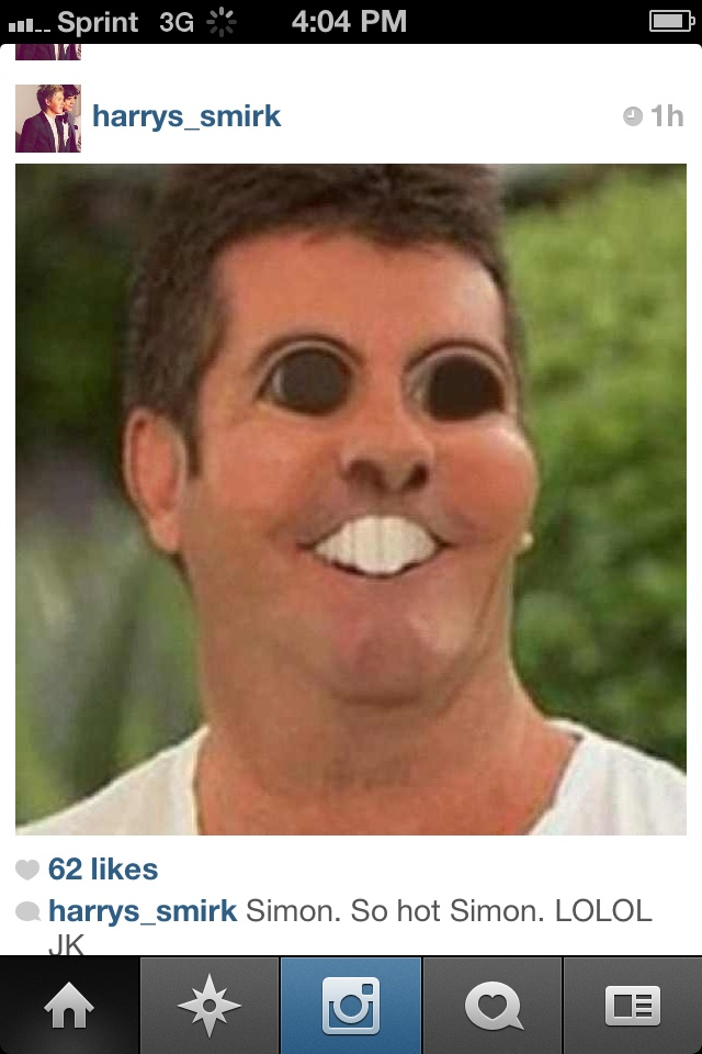 DID ANYONE LAUGH EXTREMELY HARD??? I WAS SCROLLING THROUGH MY ISTAGRAM FEED AND FOUND THIS!!!