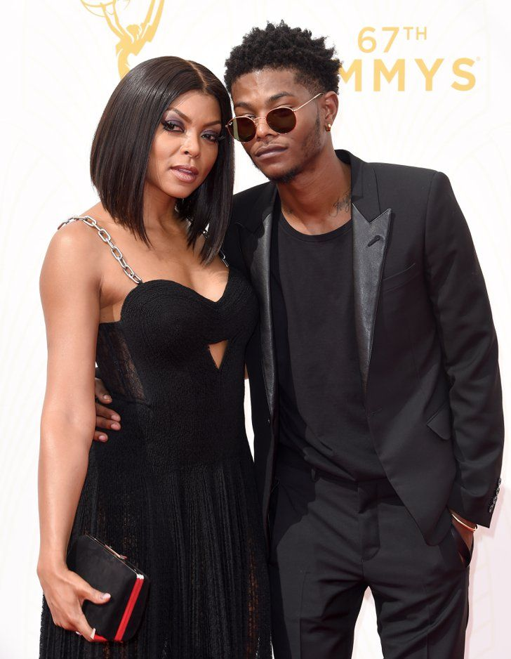 Pin for Later: Celebrate Taraji P. Henson's Incredible Career With These Little-Known Facts She Had Her Son, Marcel Henson, While She Was Still in College