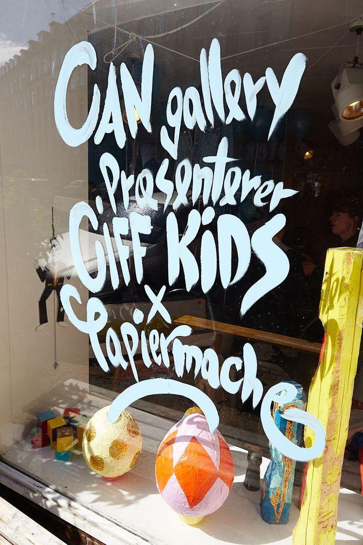 CIFF KIDS x Papier Mache reception i CAN Gallery