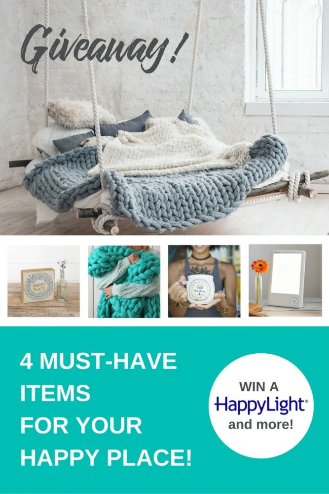 Create Your Happy Place - Giveaway! $300 value.
