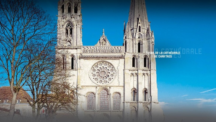 Tours de la cathédrale de Chartres - Centre des monuments nationaux