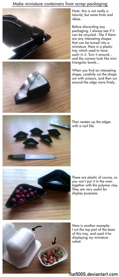 Tutorial: Make mini containers by ~fiat500S on deviantART