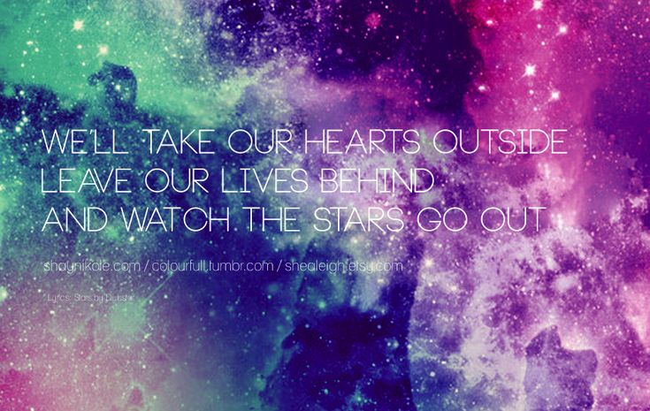 galaxy quotes tumblr infinity - photo #6
