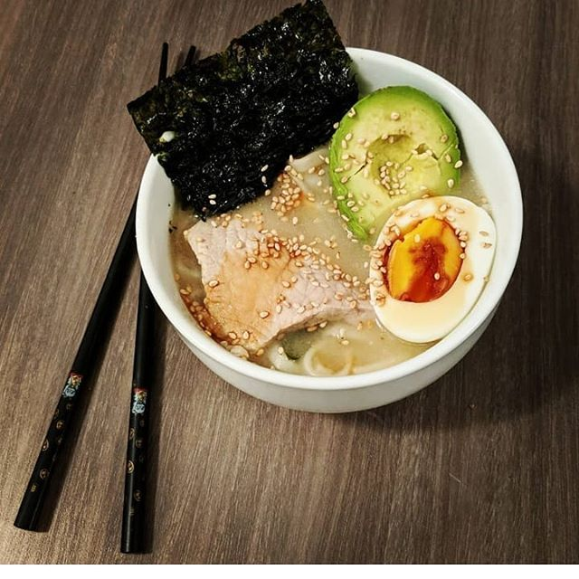 you are what you eat  today I'm a ramen  #homemade . . . #food #cook #ramen #healthy #tasty #japanese #meal #soup #traditional #frenchtouch #quandmeme #bonappetit #instabouffe