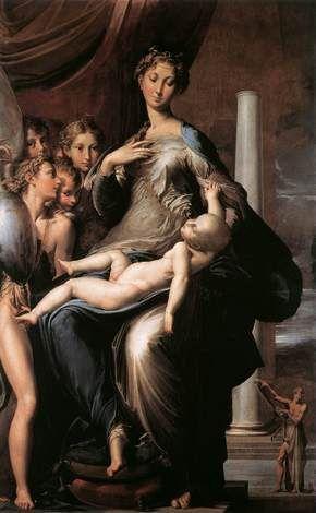 傑作選(9) パルミジャニーノの「長い首の聖母」:掲示板:独断と偏見で楽しむイタリア芸術|Beach - ビーチ