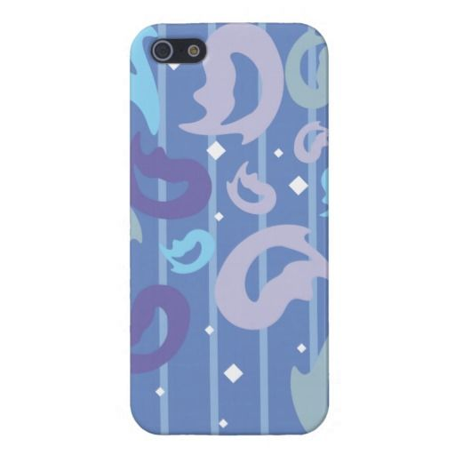 Funky Retro Flame Background iPhone 5 Cases