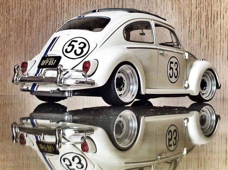 Volkswagen Beetle - Herbie 53 OLDSKL WORLD® : Photo