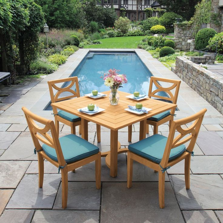 Create Perfect Symmetry In Any Outdoor Setting With The Fiori Square Table.