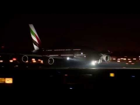 Emirates Fleet at Dubai International | Timelapse| Emirates Airline - YouTube
